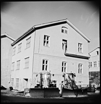 Birth house of MM in Jyväslylä, Finland. Photographed by Alma Ratas, 1972